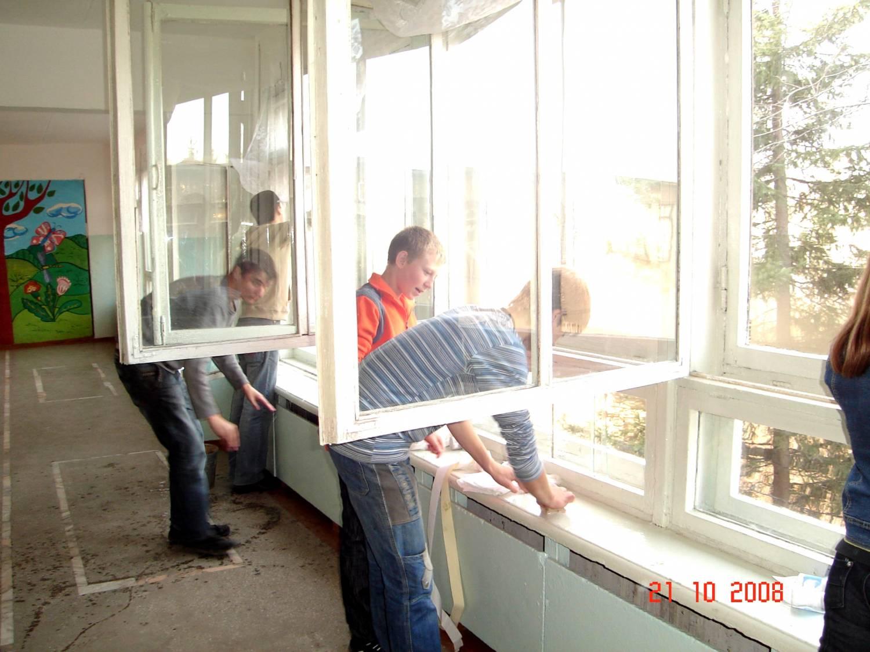Временное окно своими руками 30